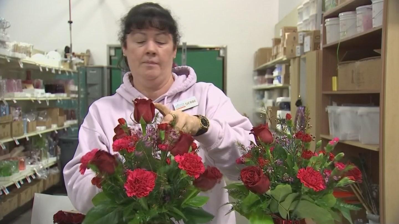 Arizona Flower Market said it had close to 2,000 deliveries on Monday. (Source: 3TV/CBS 5)