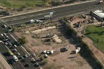 Two people are dead after a small plane crashed at the end of a runway at Mesa's Falcon Field. By Jennifer Thomas