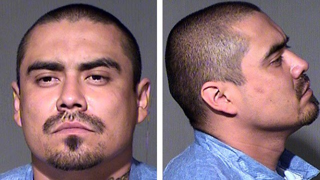 David Ornelas in an April 20, 2015, booking photo. (Source: Maricopa County Sheriff's Office)