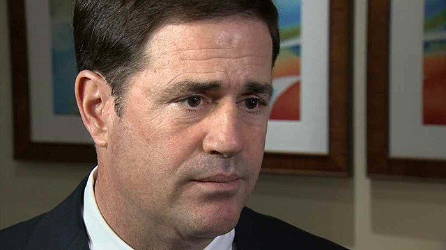 Arizona Gov. Doug Ducey in a Feb. 24, 2015 photo. (Source: KPHO/KTVK file)