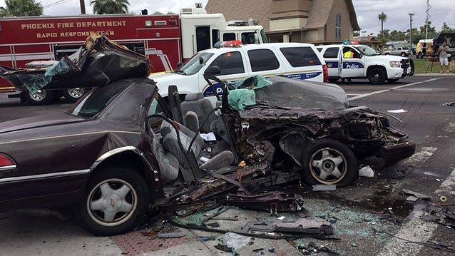 Family Dies In Car Crash Arizona