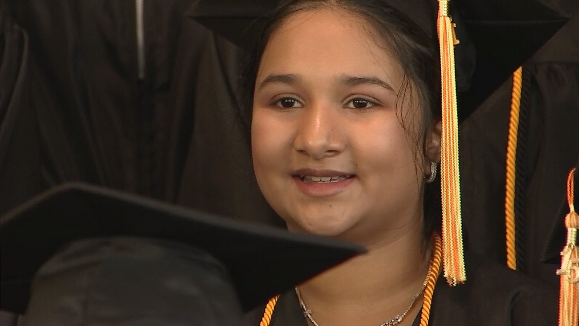 Ria Cheruvu says she will major in neural cryptography at Harvard. (Source: KPHO/KTVK)