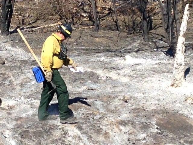 Kearny River Fire on Thursday morning (Source: Kraig Stern, KPHO/KTVK)