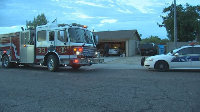 Th woman's husband pulled her from the water and started CPR. (Source: KPHO/KTVK)