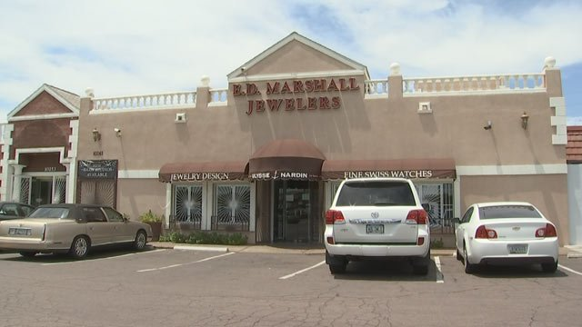 E.D. Marshall Jewelers has been in business since 1971. (Source: KPHO/KTVK)