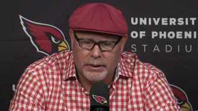 Arizona Cardinals Coach Bruce Arians (Source: KPHO/KTVK)