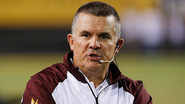 ASU head coach Todd Graham