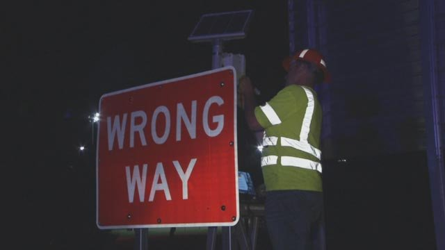 ADOT is testing to new detection and warning system to prevent wrong-way crashes. (Source: KPHO/KTVK)