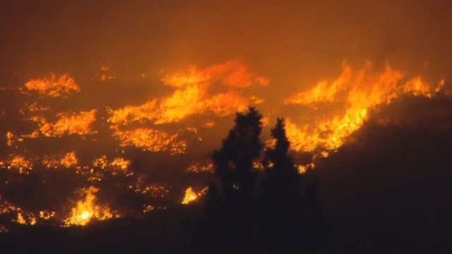 The U.S. Forest Service said, on average, the fire season is 78 days longer than it was 40 years ago.  (Source: KPHO/KTVK)