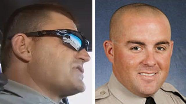 DPS troopers Casey Cernak (left) and Jeremy Barr.  (Source: KPHO/KTVK/DPS)