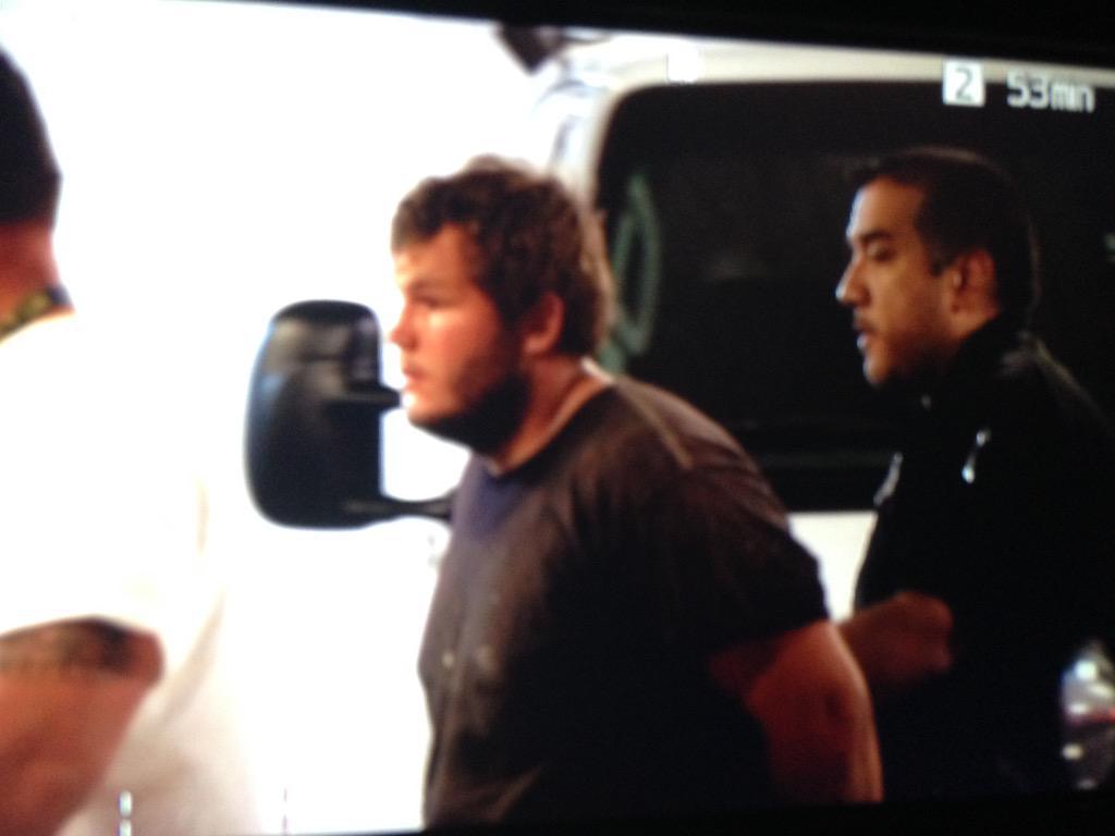 Freeway shooting suspect Leslie Allen Merritt Jr. in custody on Sept. 18 (Source: KPHO/KTVK)