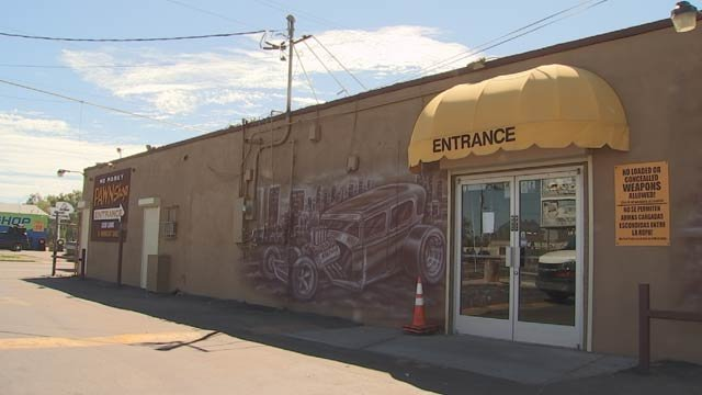 Store records show Merritt pawned the 9 mm semi-automatic three times. (Source: KPHO/KTVK)