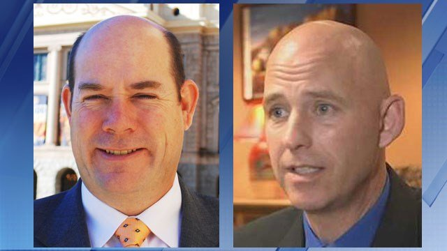 State House Speaker David Gowan and Pinal County Sheriff Paul Babeu (Source: KPHO/KTVK)