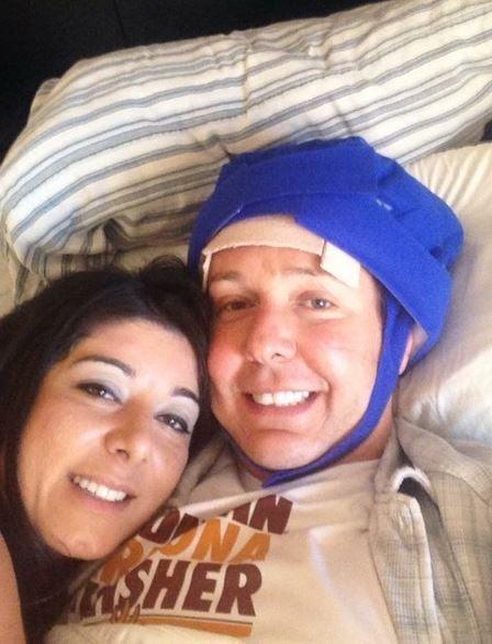 U.S. Army Veteran Steven Cooper and his girlfriend, Rima Follman