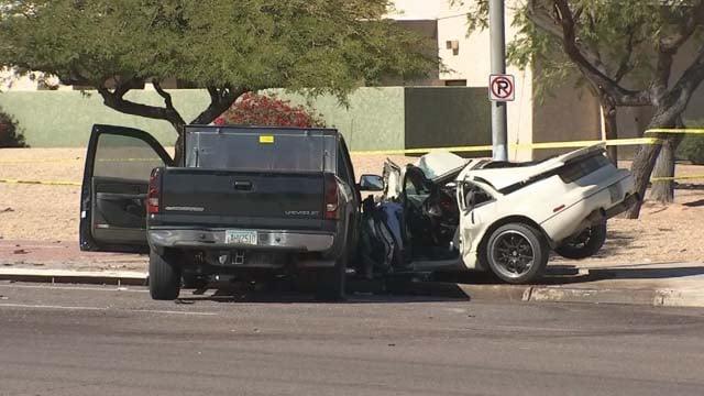 Dead Family Car Crash November White