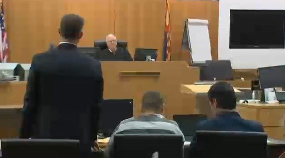 Attorneys for both sides appear in Judge Warren Granville's courthouse Monday. (Source: KPHO/KTVK)