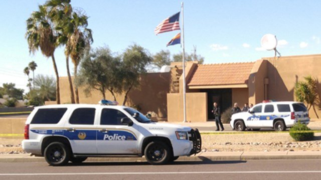 Cactus precinct police station. (Source: KPHO/KTVK)
