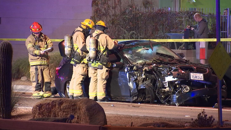 The crash happened on University betweet Hardy and Beck. (Source: KPHO/KTVK)
