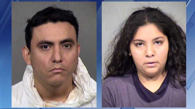 Fransico Javier Rios Covarrubias and Mayra Yomali Solis (Source: Maricopa County Sheriff's Office)