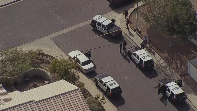 Officer-involved shooting in Mesa (Source: KPHO/KTVK)