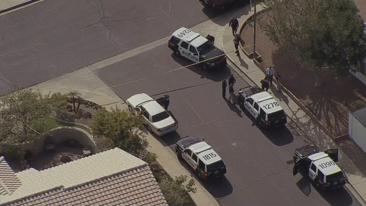 Officer-involved shooting in Mesa (Source: KPHO/KTVK)