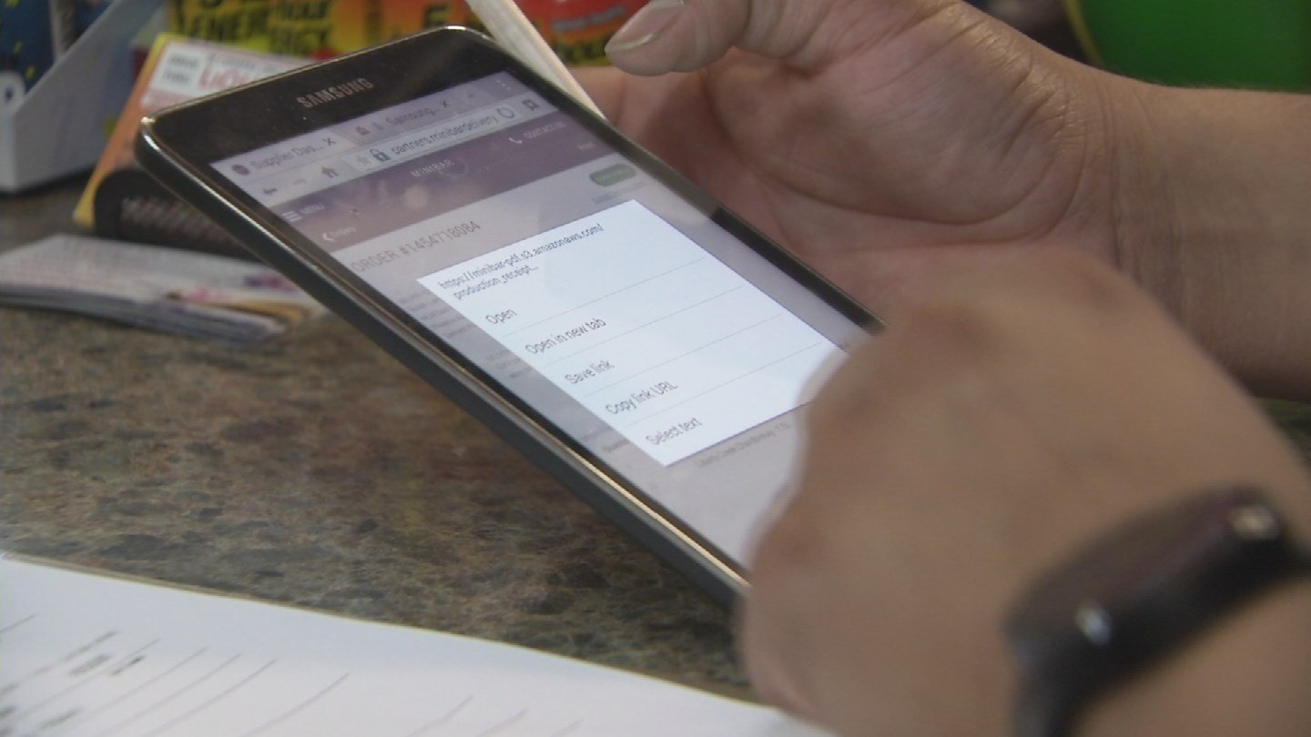 Stores get the orders from Minibar via email. (Source: KPHO/KTVK)