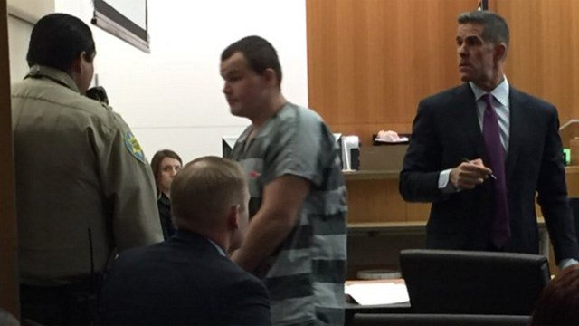 Freeway shooter suspect Leslie Merritt Jr. in court. (Source: KPHO/KTVK)
