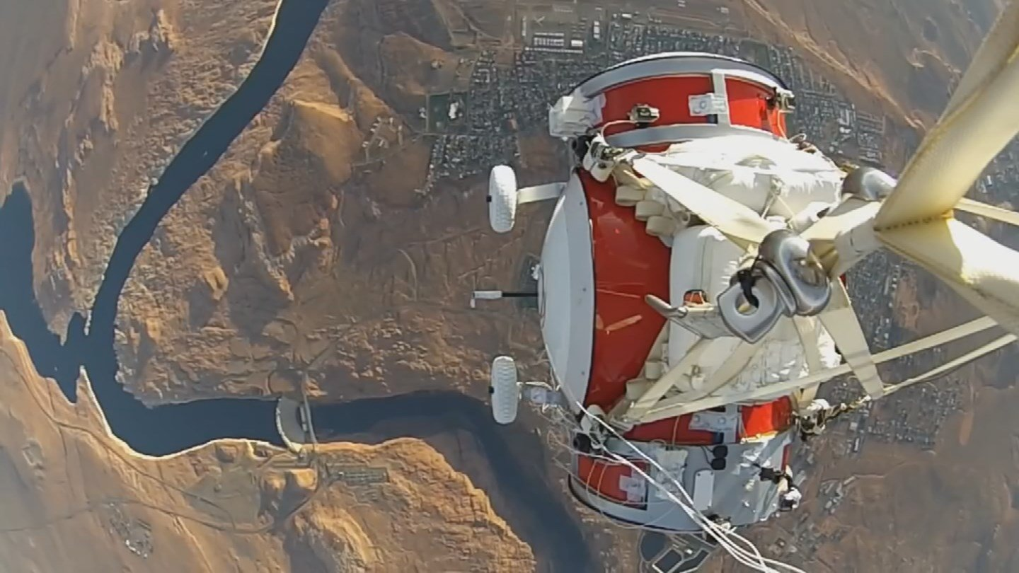 World View recently tested a 1/10-scale model. (Source: KPHO/KTVK)