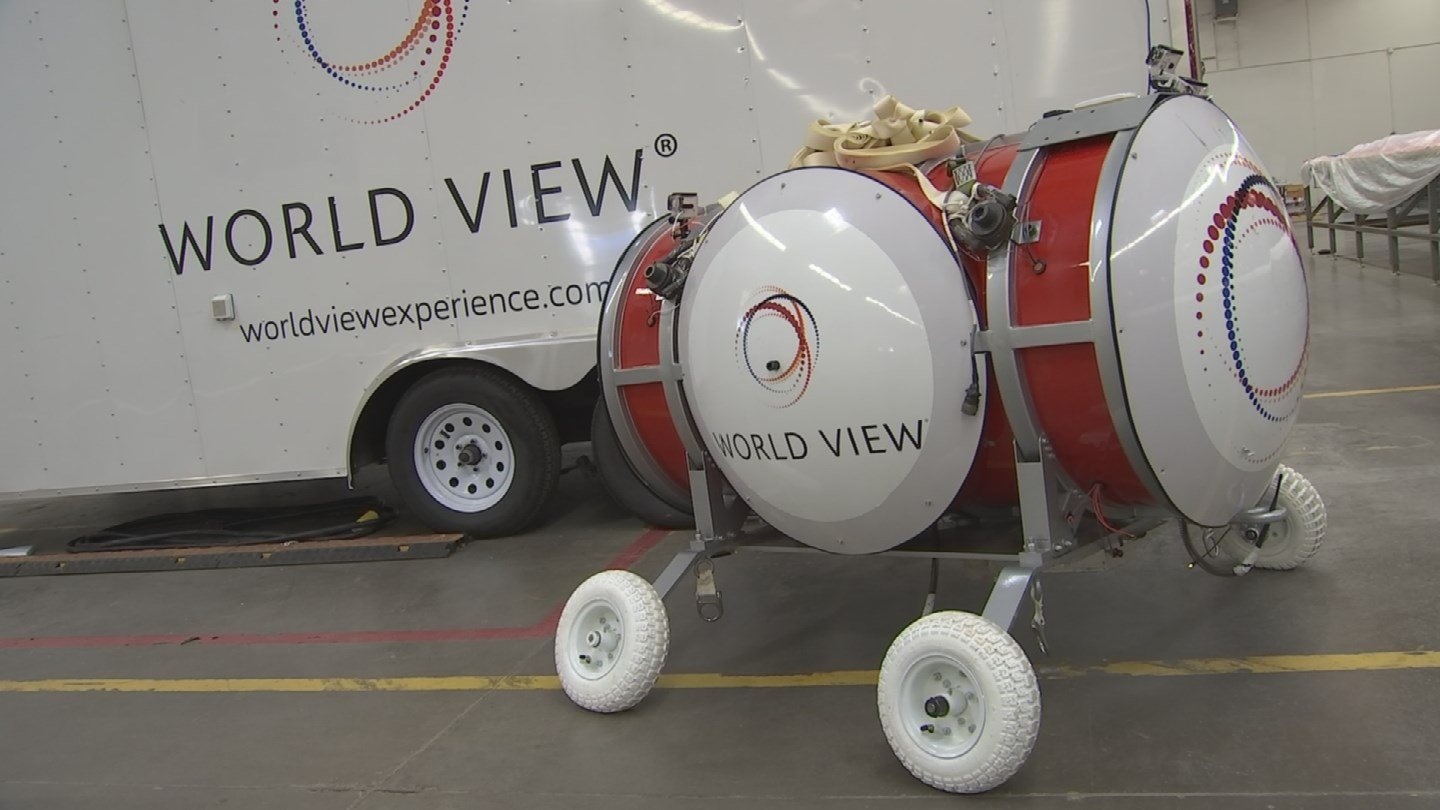 World View hopes to be taking people up within the next few years. (Source: KPHO/KTVK)