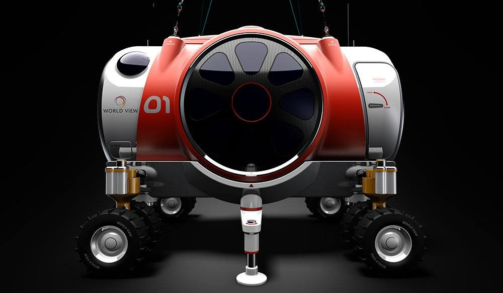 Worldview is still in the development phase of the capsule, but it will essentially be a relaxing lounge. (Source: World View via Facebook)