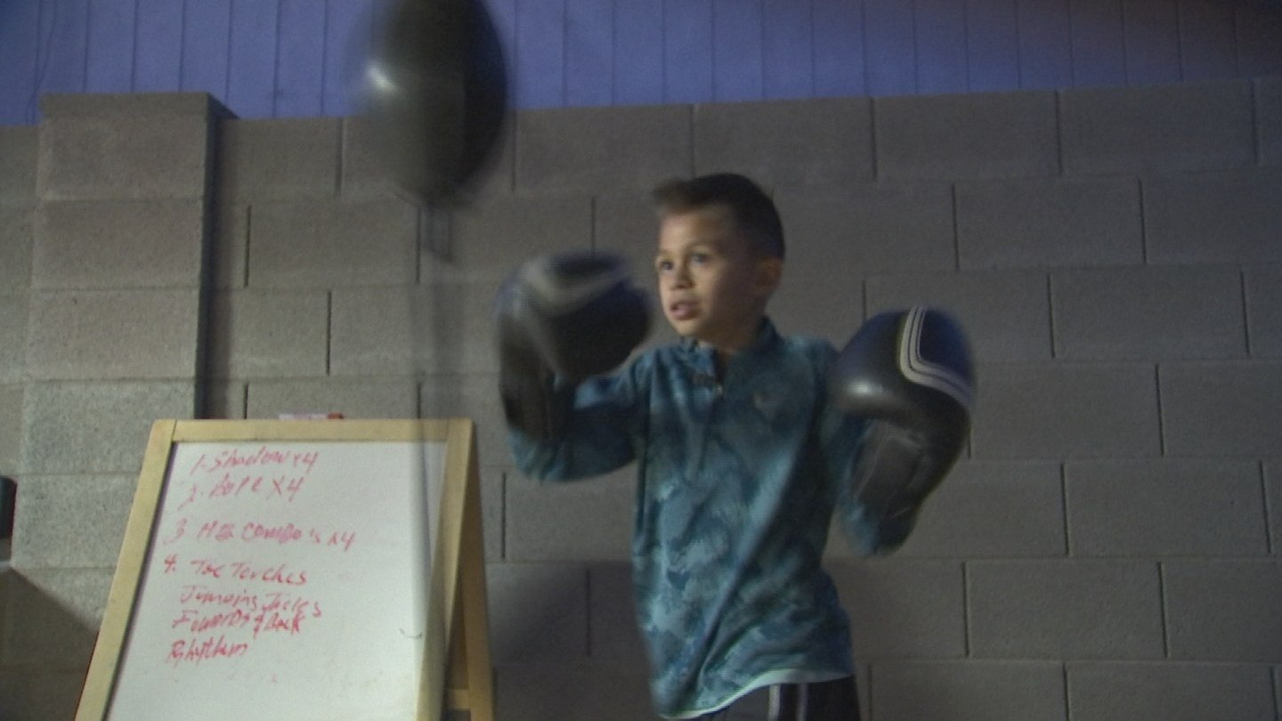 Ray plans to compete in the Junior Olympics in May. (Source: KPHO/KTVK)