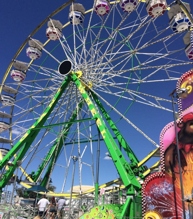 See Who's Going to Maricopa County Fair in Phoenix, AZ! Everyone loves a good old-fashioned county fair! And each year, the Maricopa County Fair in Phoenix, Arizona, does not disappoint. It features all the major attractions one would expect at an American fair including over 35 dazzling and exhilarating carnival rides, livestock shows and a rodeo.4/5.