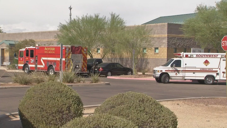 Mcso deputy rescues toddler from hot car arizona 39 s family for Avondale motor vehicle division avondale az