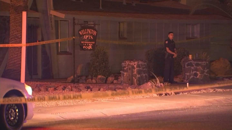 (Source KPHO/KTVK) & PD: Suspect kicks in apartment door shoots resident - Arizona\u0027s Family