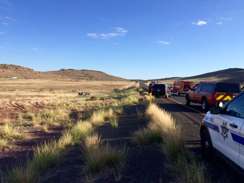 Interstate 17 northbound reopened after crash near Cordes Juncti ...