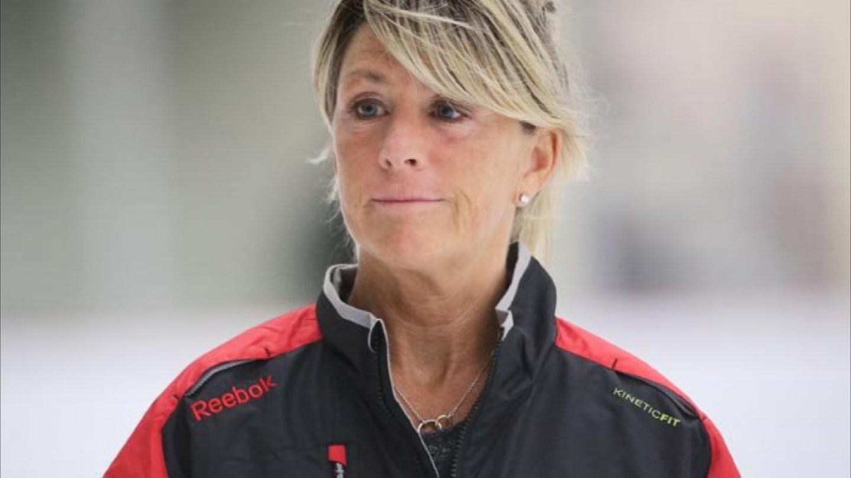 Dawn Braid NHL Skating Coach for Arizona Coyotes