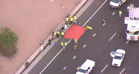Eastbound Us 60 At Loop 101 Reopens After Fiery Crash