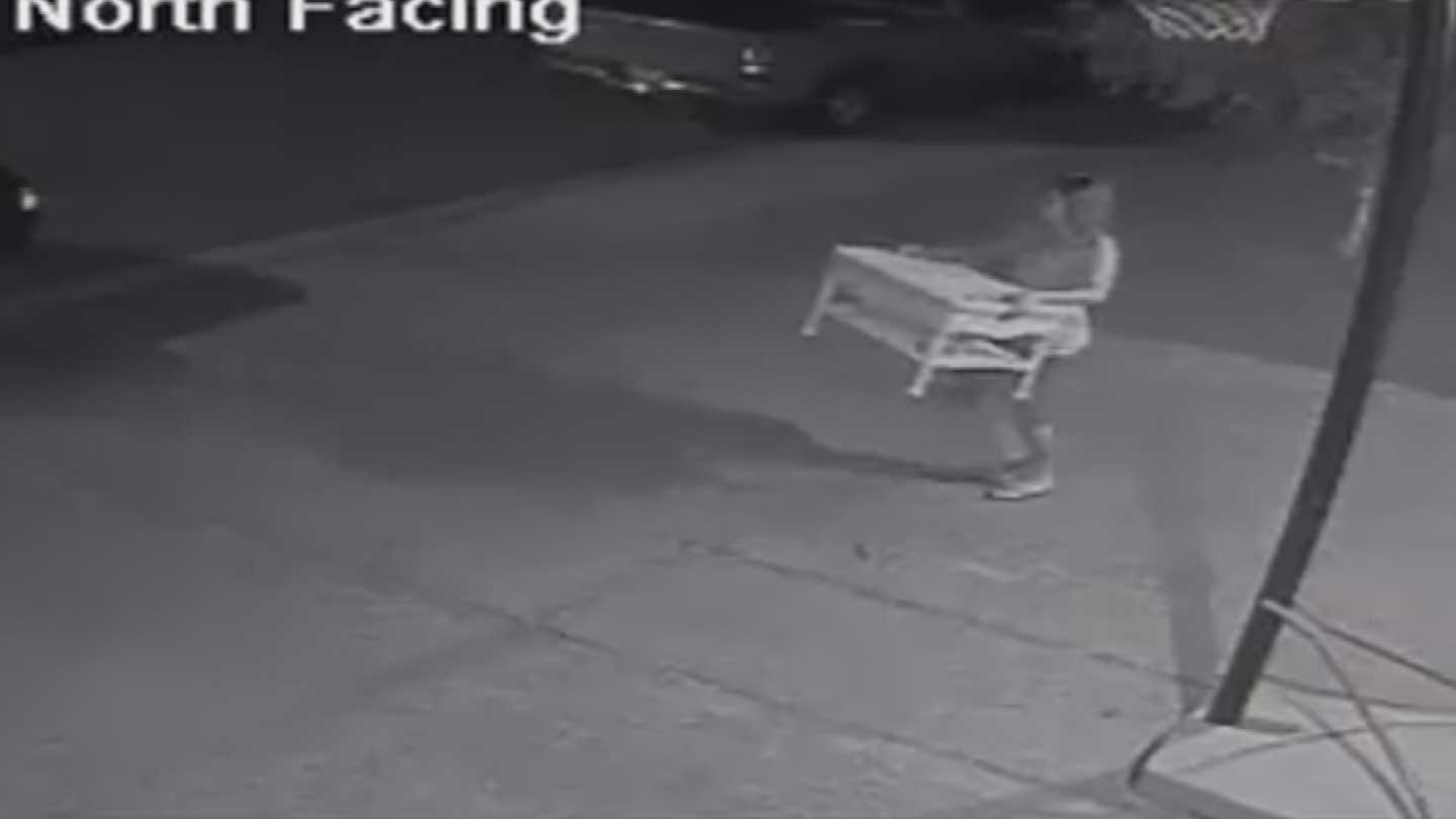 Thieves Have Been Stealing Patio Furniture In Central Phoenix. (Source:  Homeowneru0027s Surveillance Video