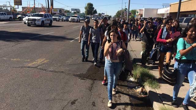 Valley students walk out of class in protest of Trump's ...