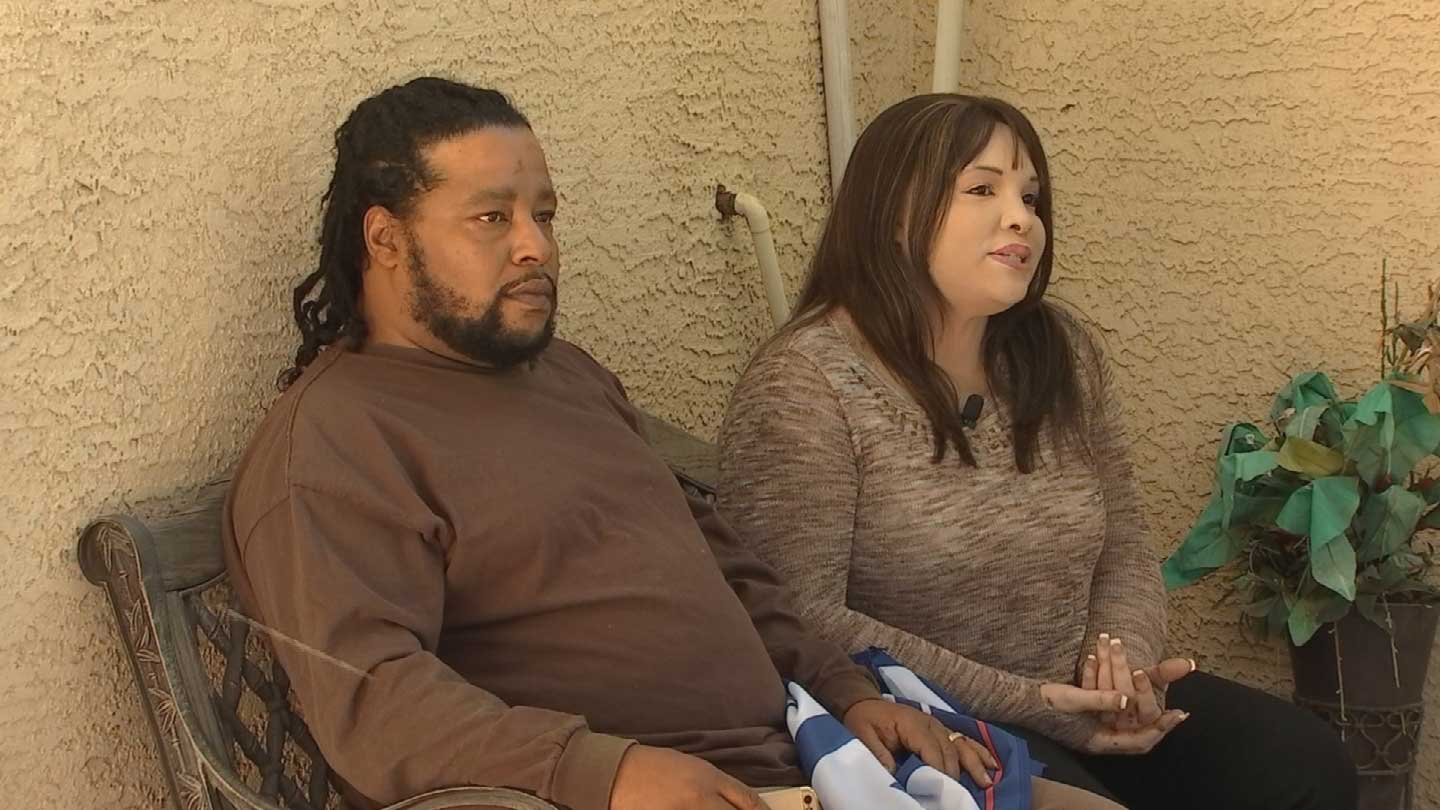 INTERRACIAL COUPLE'S HOUSE VANDALIZED BECAUSE THEY VOTED TRUMP