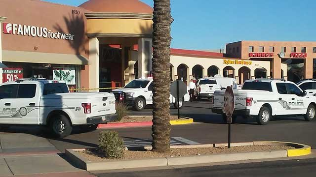 Police Investigated An Armed Robbery At Famous Footwear Near Pima And Indian Bend Ro