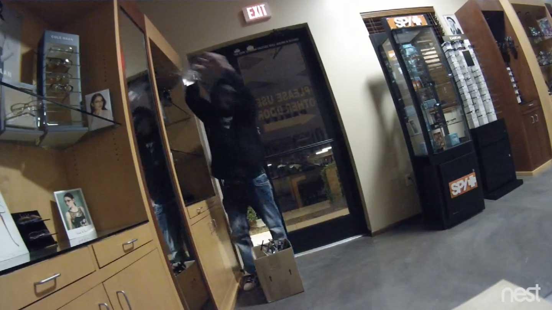 Glasses Frames Montgomery Al : Burglary at Peoria eyewear store caught on video - WSFA ...