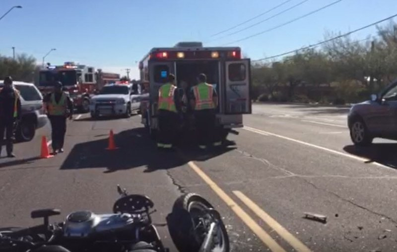 Car Accident Saturday Night Arizona