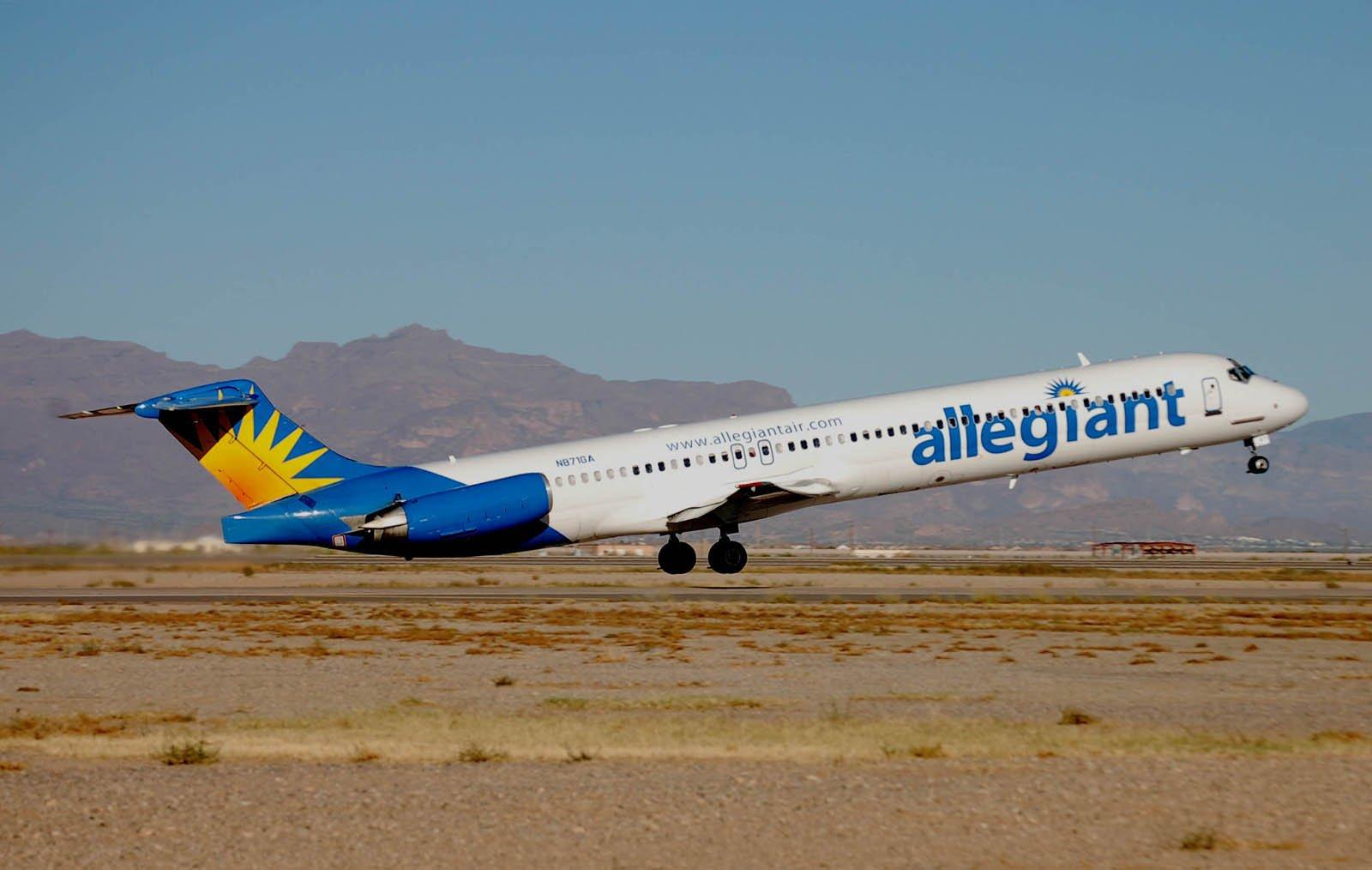 Grams Luftfartsblogg Allegiant With Technical Problems