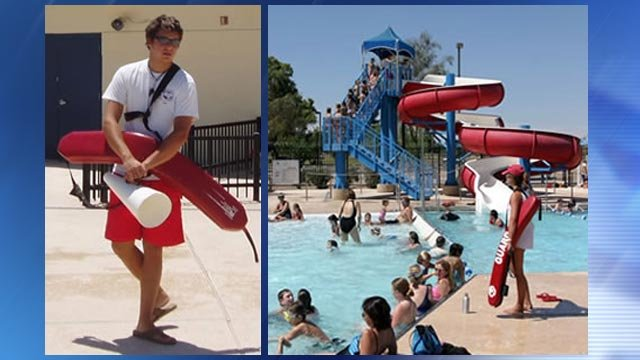 Phoenix hiring teens to be lifeguards cashiers at city Swimming pool lifeguard requirements