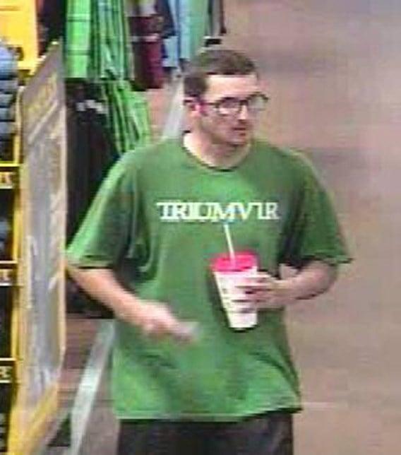 Chandler pd help us find suspected shoplifter 3tv cbs 5 for T shirt printing chandler az