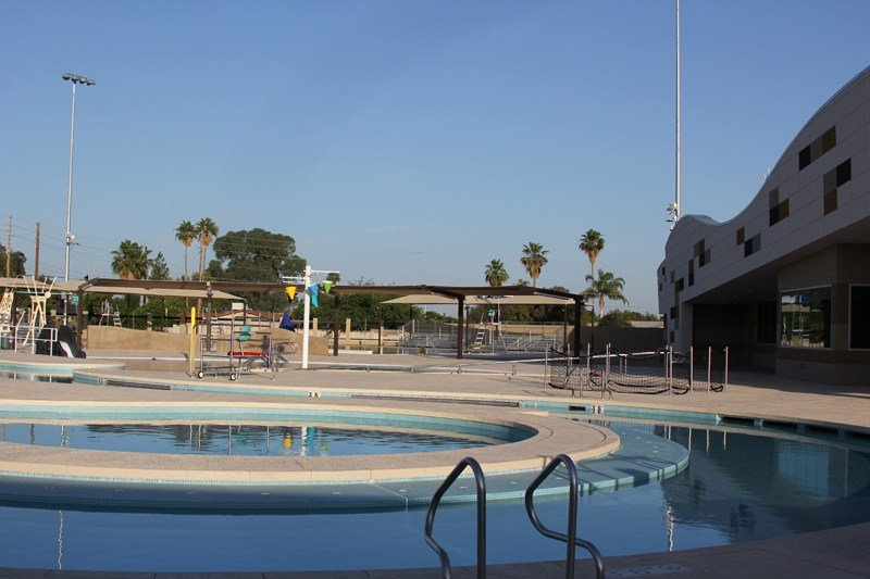 City of mesa opens newest pool arizona 39 s family for Pool fill in mesa az