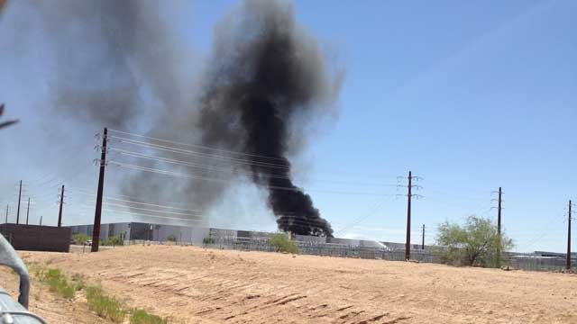 Crews Put Out Fire At Apple Building In Mesa Arizona S