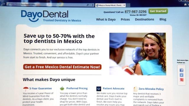 The company touts trusted dentistry in Mexico. (Source: KPHO/KTVK)