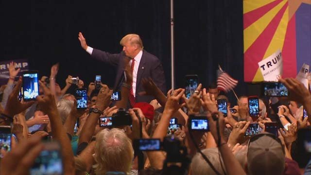 Image result for trump in phx